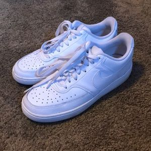 white nike court vision lows 💕✨